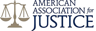 Logo Recognizing American Association for Justice's affiliation with The Poole Law Group