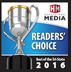 Logo Recognizing Herald Mail Media Reader's Choice 2016's affiliation with The Poole Law Group